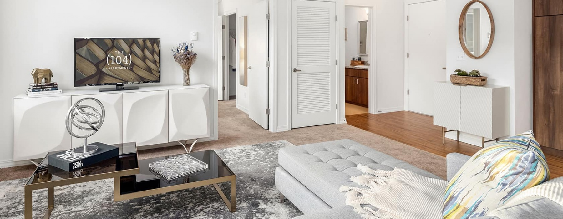 Spacious floor plans with an abundance of natural light.